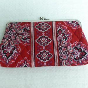 Vintage Vera Bradley Double Kisslock Wallet/Clutch